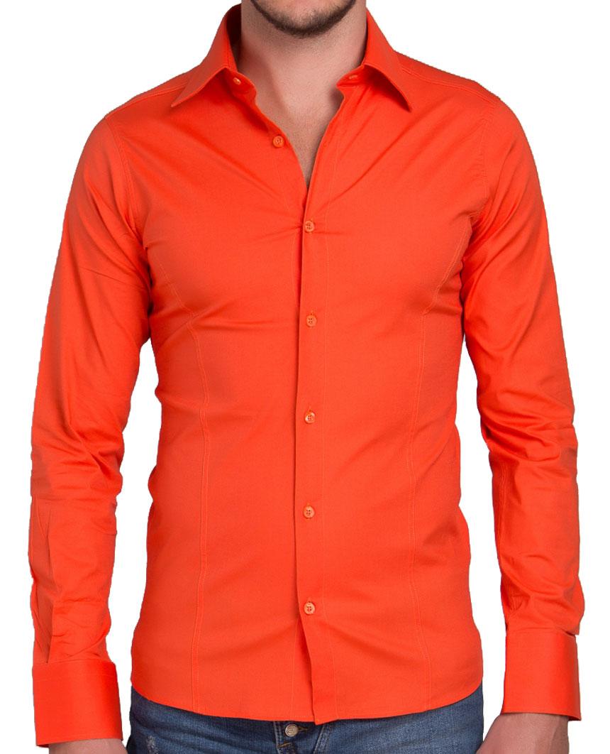 Camicia-Uomo-Slim-Fit-Business-Tempo-Libero-Matrimonio-Maglia-Stiro-Facile miniatura 18