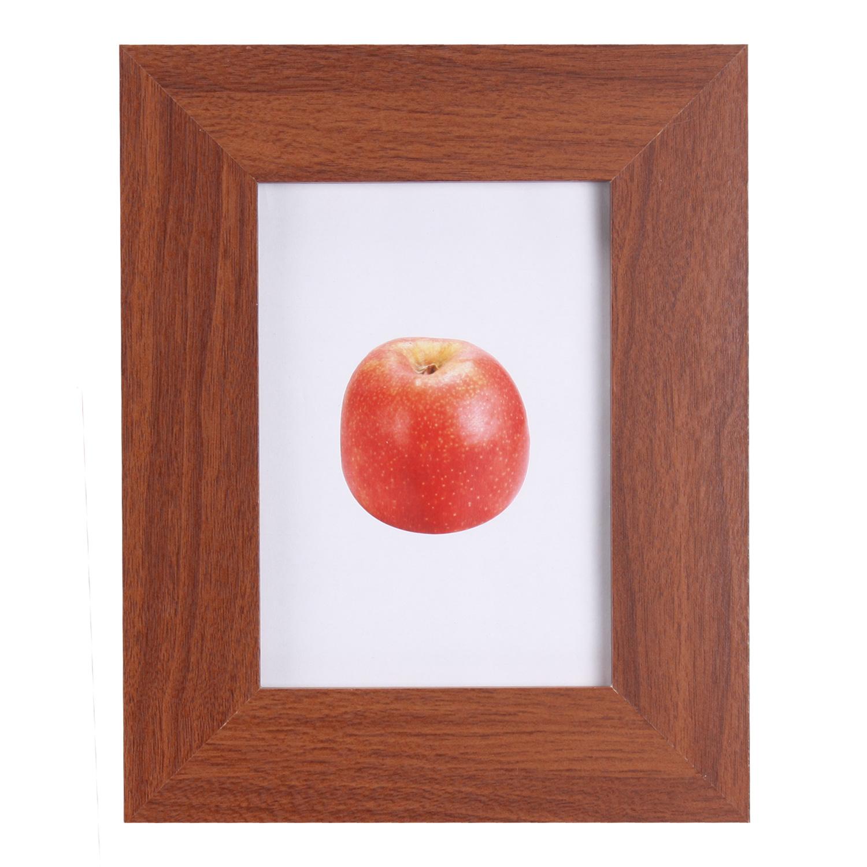 cadre photo cadre de bois support de photos photo bois marron 10x15 9x13 13x18 ebay. Black Bedroom Furniture Sets. Home Design Ideas