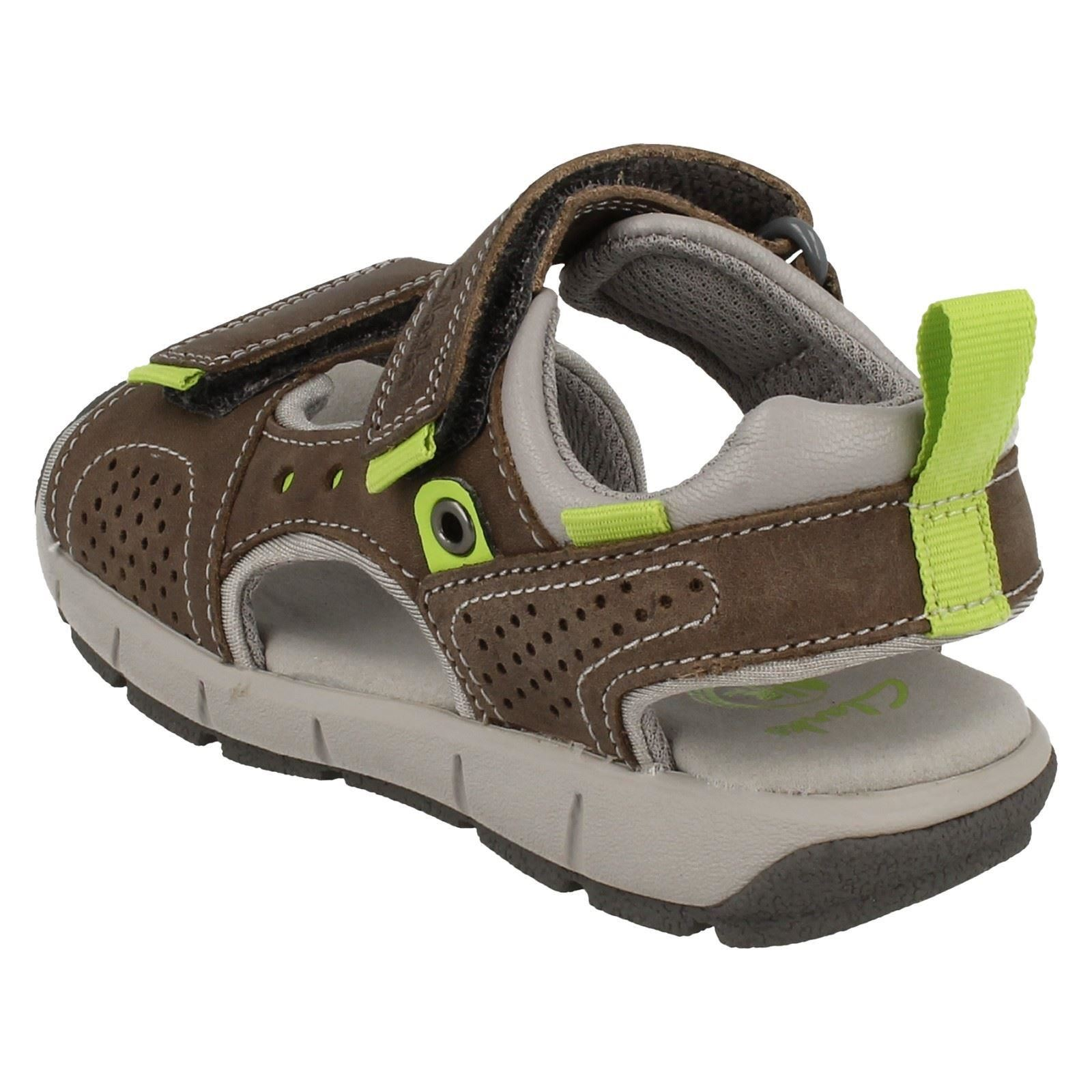 7867e579e60 Infant/Junior Boys Clarks Casual Summer Sandals Jolly Wild | eBay
