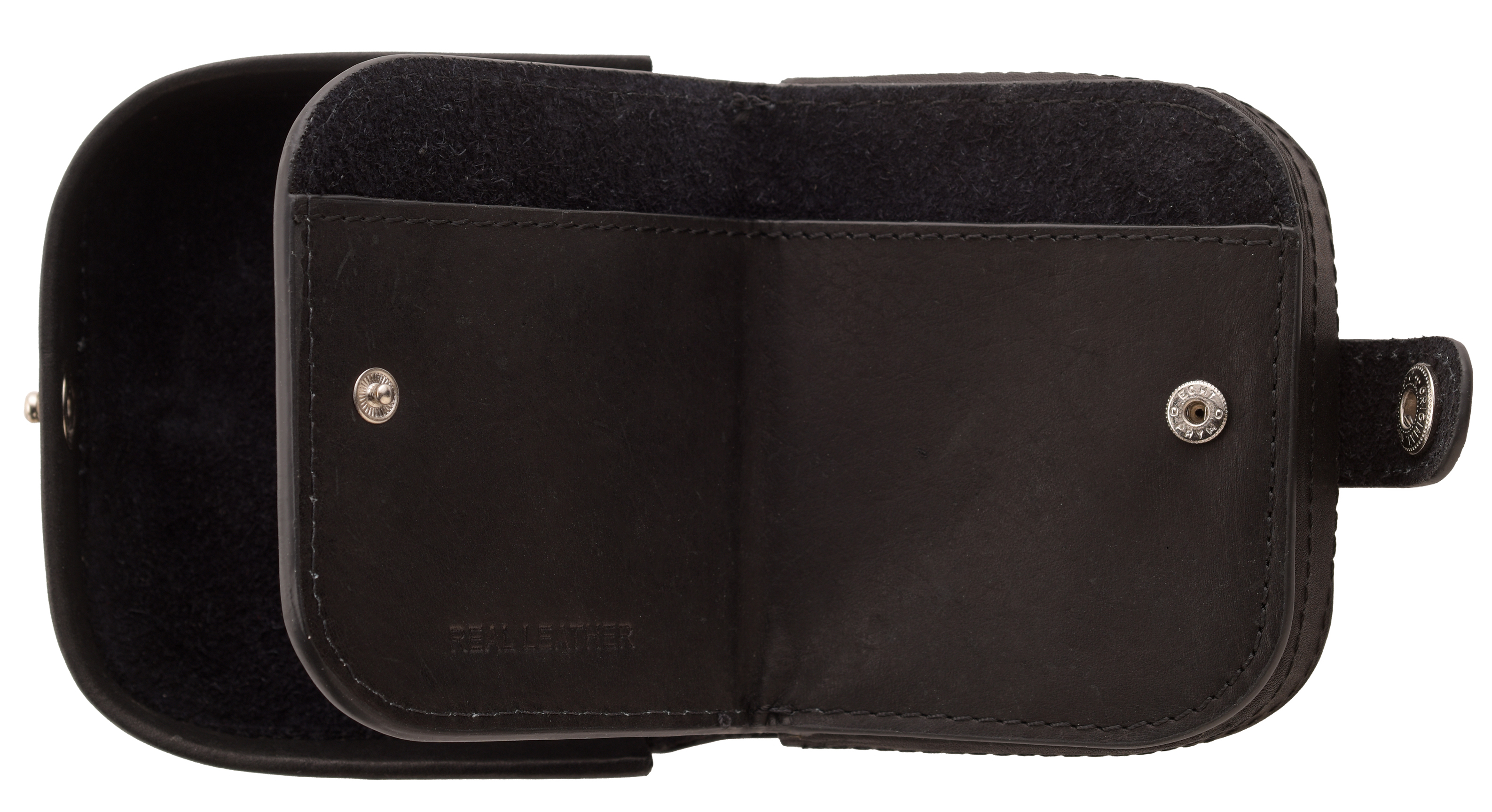 Hommes-Premium-Grade-Cuir-Plateau-Porte-Monnaie-avec-Note-Section-Noir-Bleu-Brun miniature 7