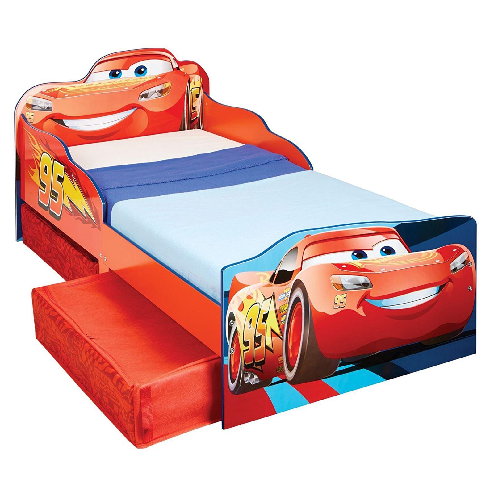 disney kleinkind bett mit lager matratze autos peppa mini eisk nigin mehr ebay. Black Bedroom Furniture Sets. Home Design Ideas