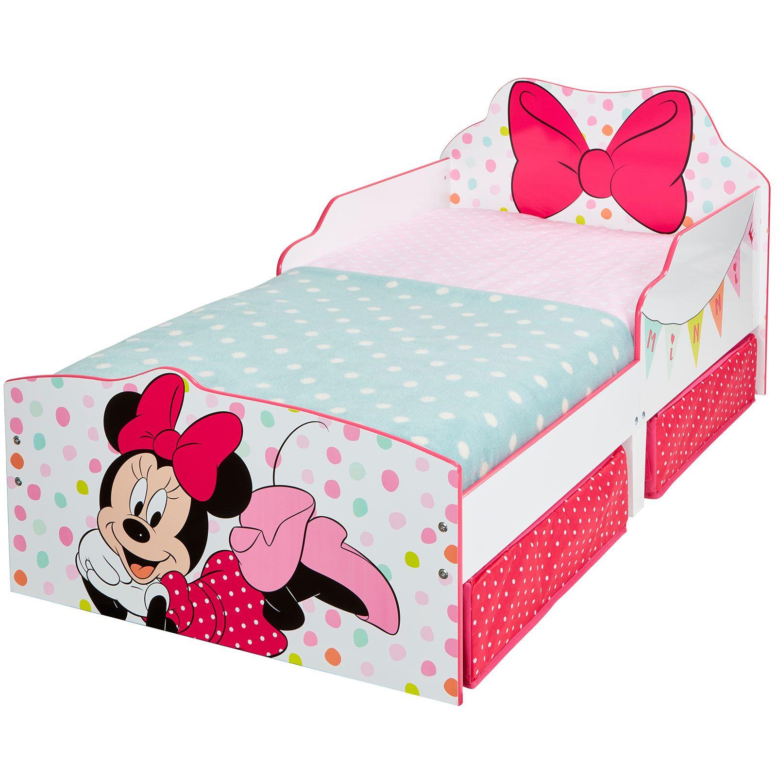 disney lit enfant b b avec rangement matelas cars peppa minnie ebay. Black Bedroom Furniture Sets. Home Design Ideas