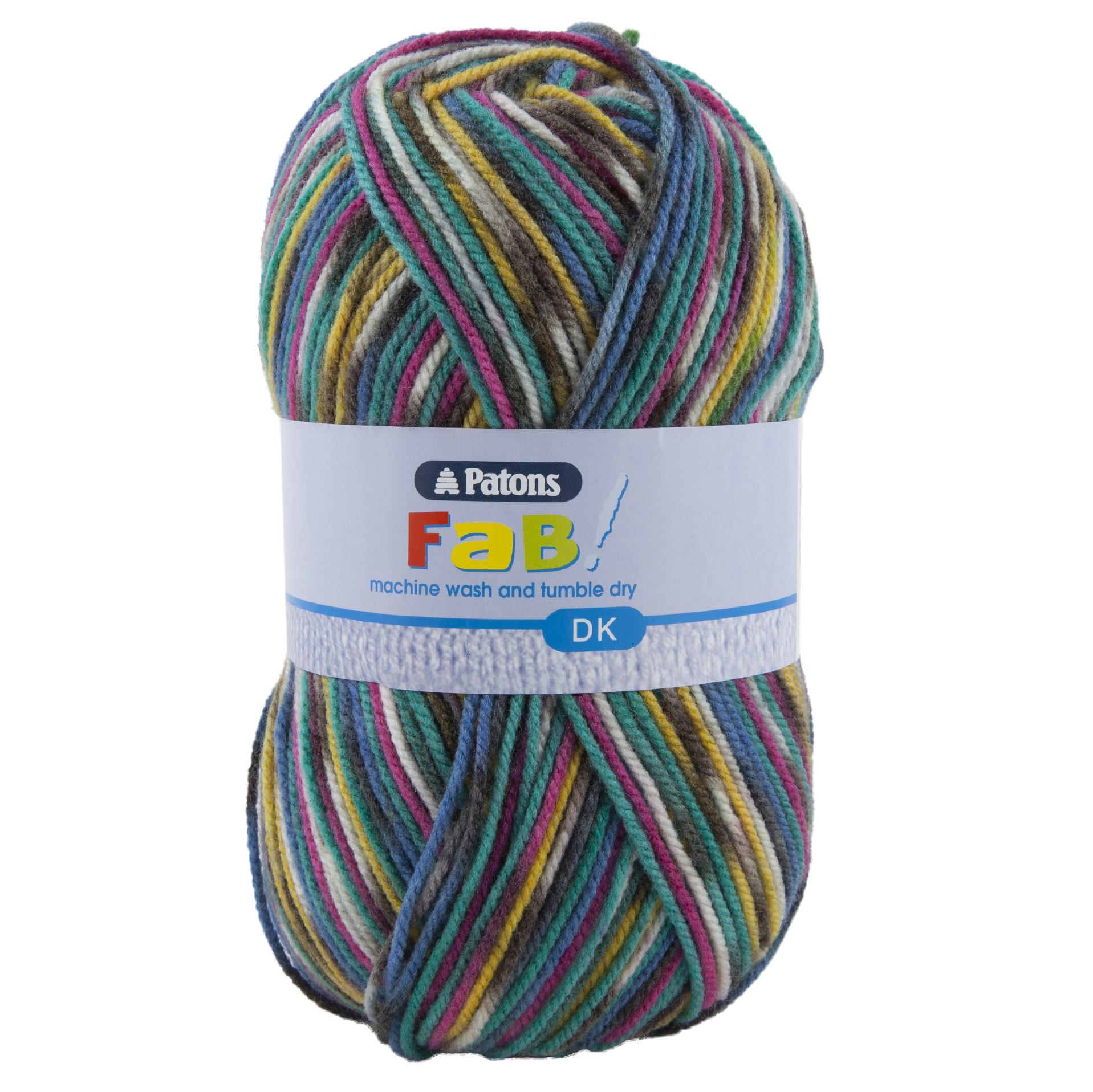 Canary Patons Yarn Fab DK Yarn 100g Ball