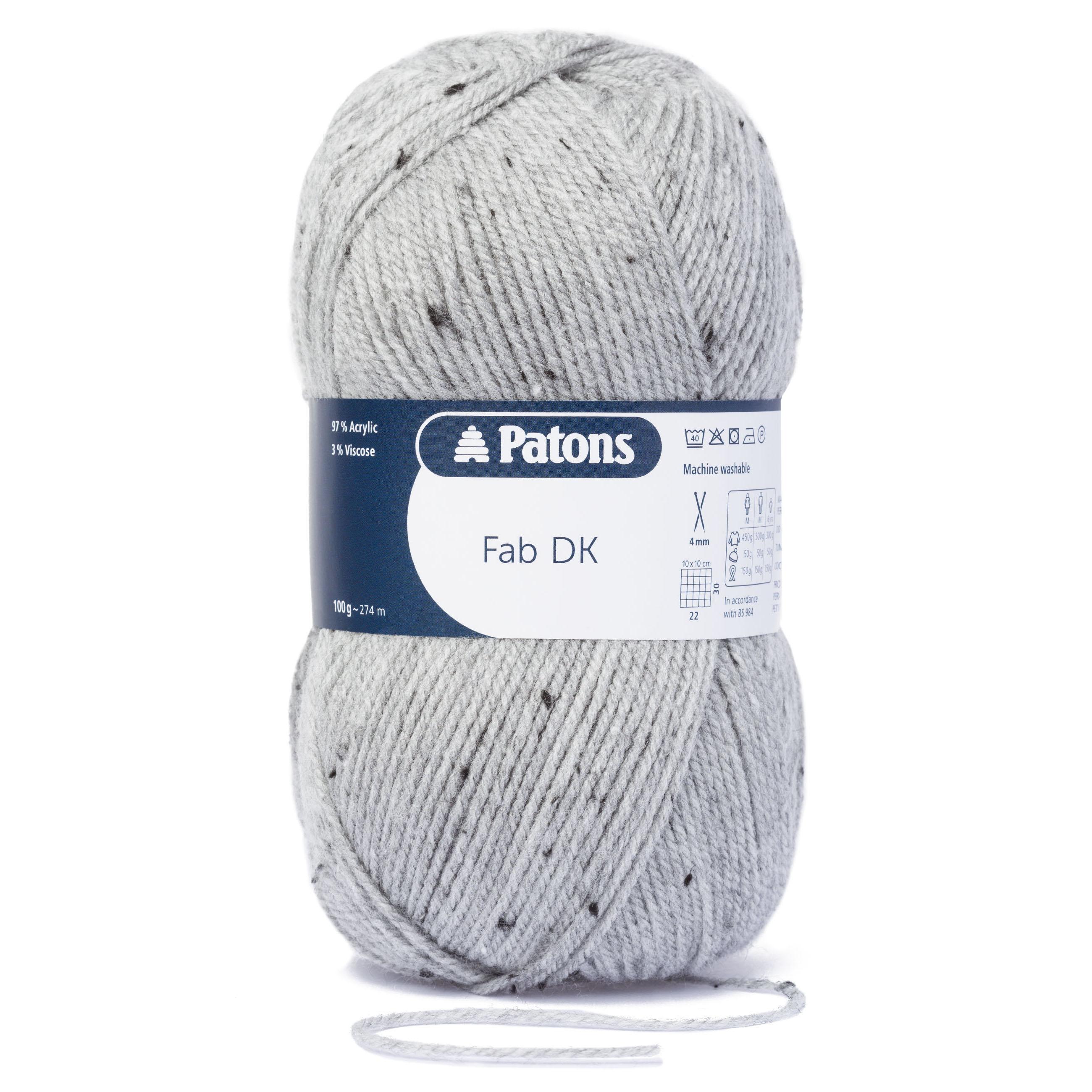 Patons FAB DK Double Knit Wool 100g - Knitting Yarn - All ...
