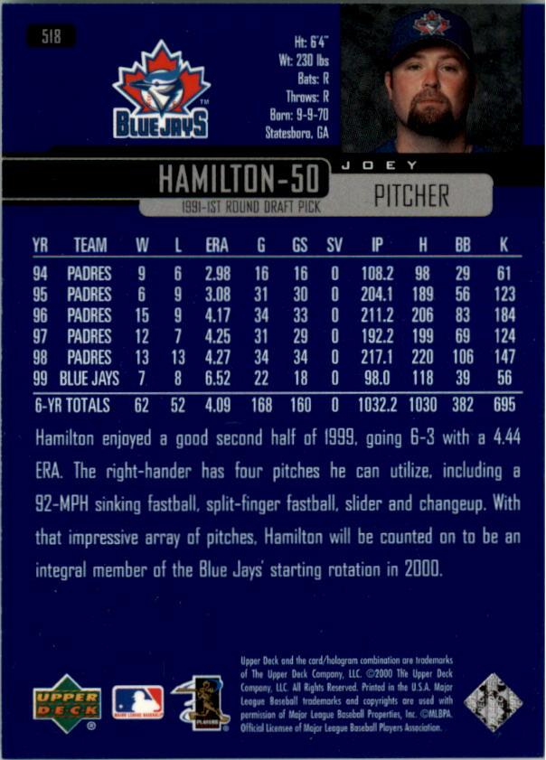 2000-Upper-Deck-Beisbol-Tarjeta-Recoger-274-540 miniatura 451