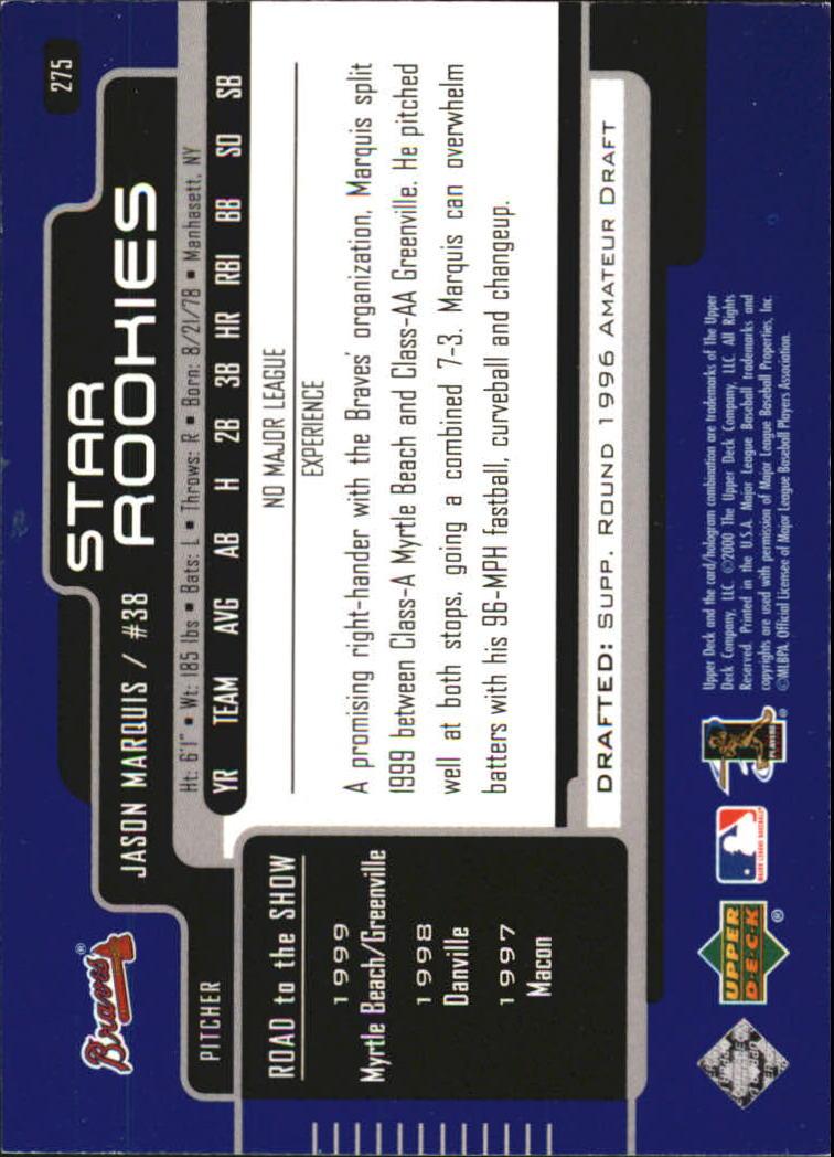 2000-Upper-Deck-Beisbol-Tarjeta-Recoger-274-540 miniatura 5