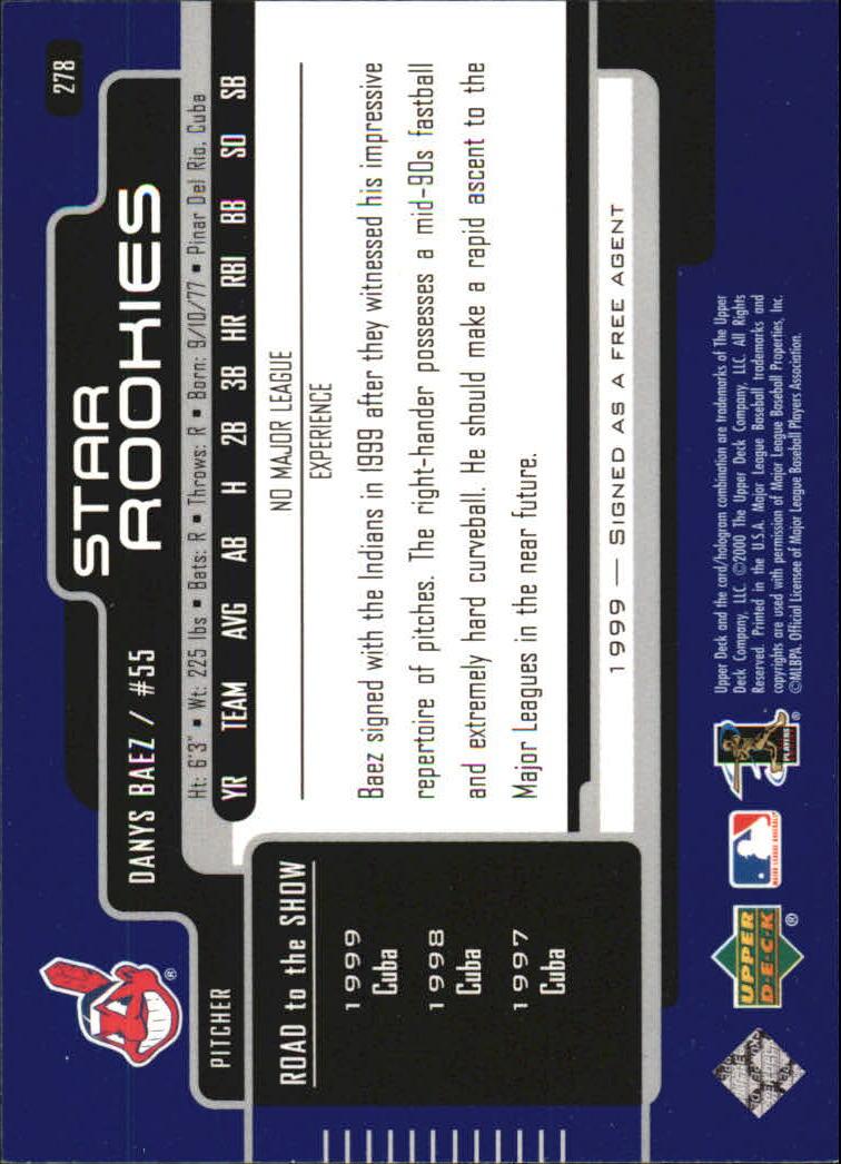 2000-Upper-Deck-Beisbol-Tarjeta-Recoger-274-540 miniatura 11