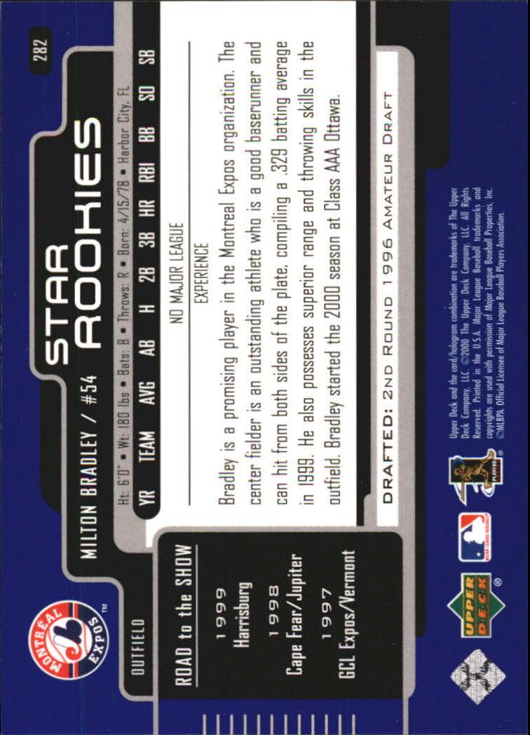 2000-Upper-Deck-Beisbol-Tarjeta-Recoger-274-540 miniatura 19