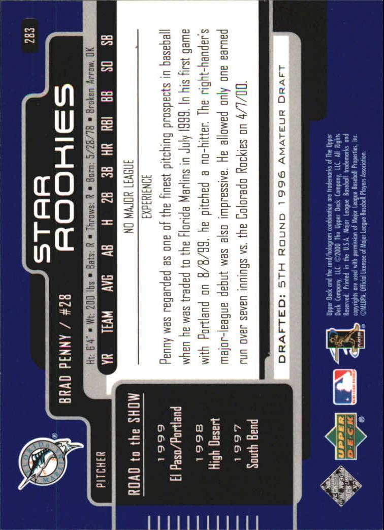 2000-Upper-Deck-Beisbol-Tarjeta-Recoger-274-540 miniatura 21
