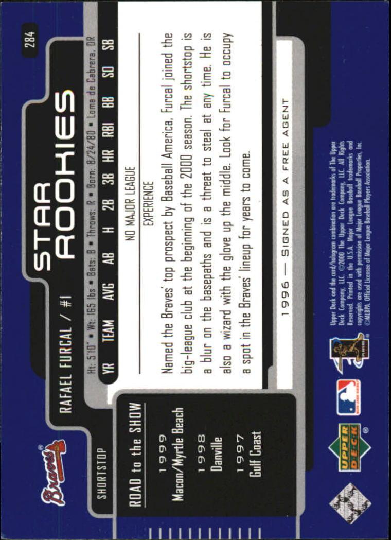 2000-Upper-Deck-Beisbol-Tarjeta-Recoger-274-540 miniatura 23