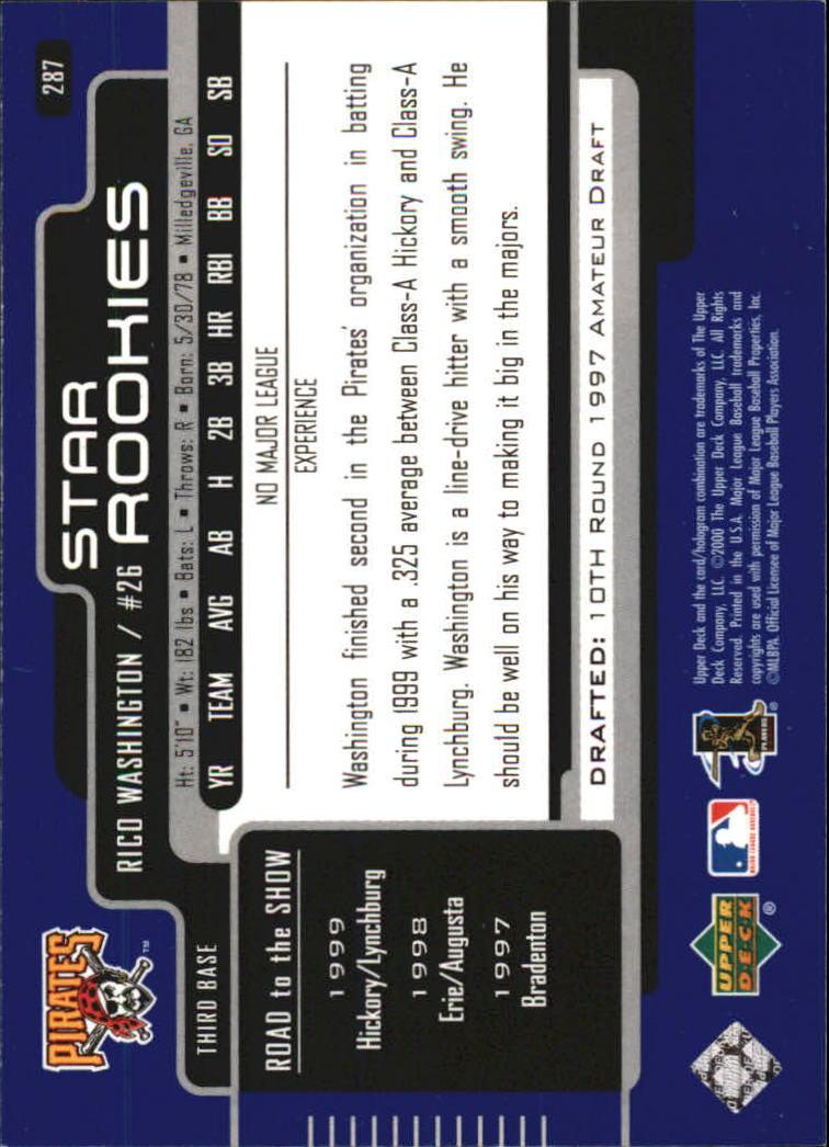2000-Upper-Deck-Beisbol-Tarjeta-Recoger-274-540 miniatura 29