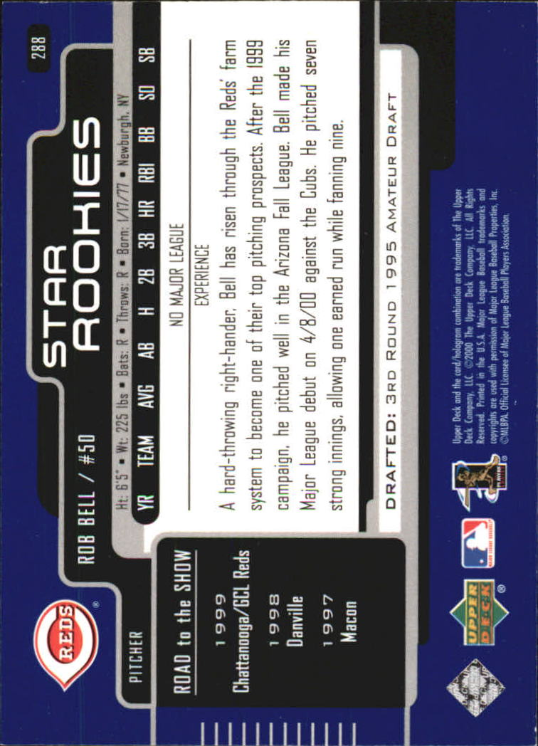 2000-Upper-Deck-Beisbol-Tarjeta-Recoger-274-540 miniatura 31