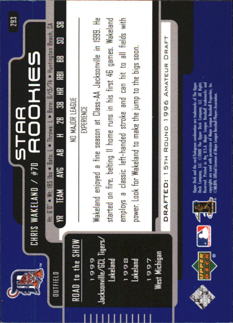 2000-Upper-Deck-Beisbol-Tarjeta-Recoger-274-540 miniatura 39