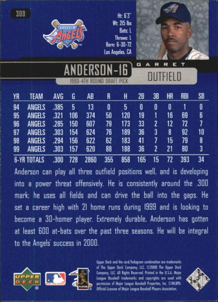 2000-Upper-Deck-Beisbol-Tarjeta-Recoger-274-540 miniatura 53