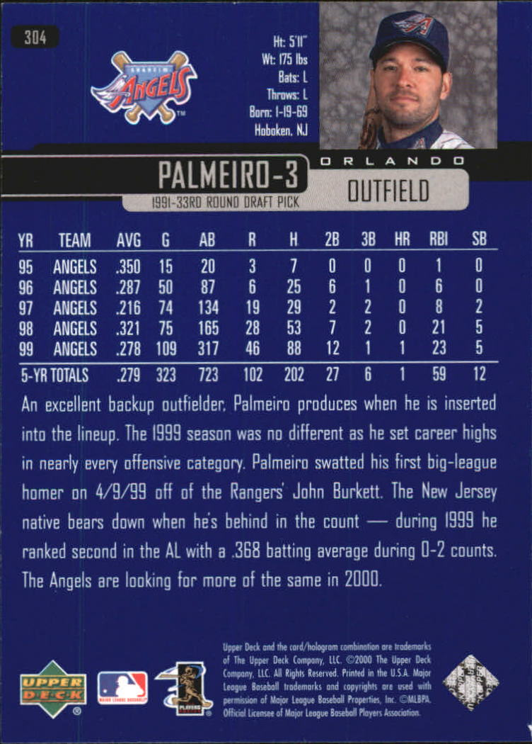 2000-Upper-Deck-Beisbol-Tarjeta-Recoger-274-540 miniatura 61