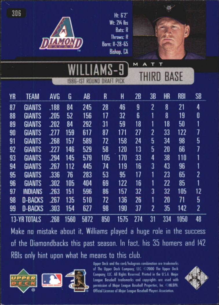 2000-Upper-Deck-Beisbol-Tarjeta-Recoger-274-540 miniatura 65