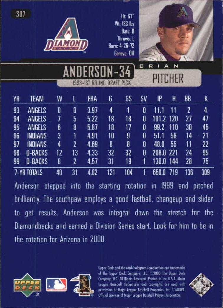 2000-Upper-Deck-Beisbol-Tarjeta-Recoger-274-540 miniatura 67