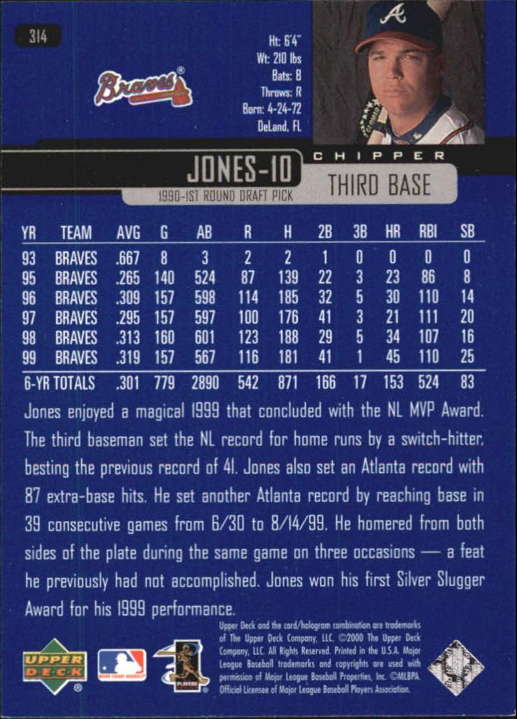 2000-Upper-Deck-Beisbol-Tarjeta-Recoger-274-540 miniatura 81