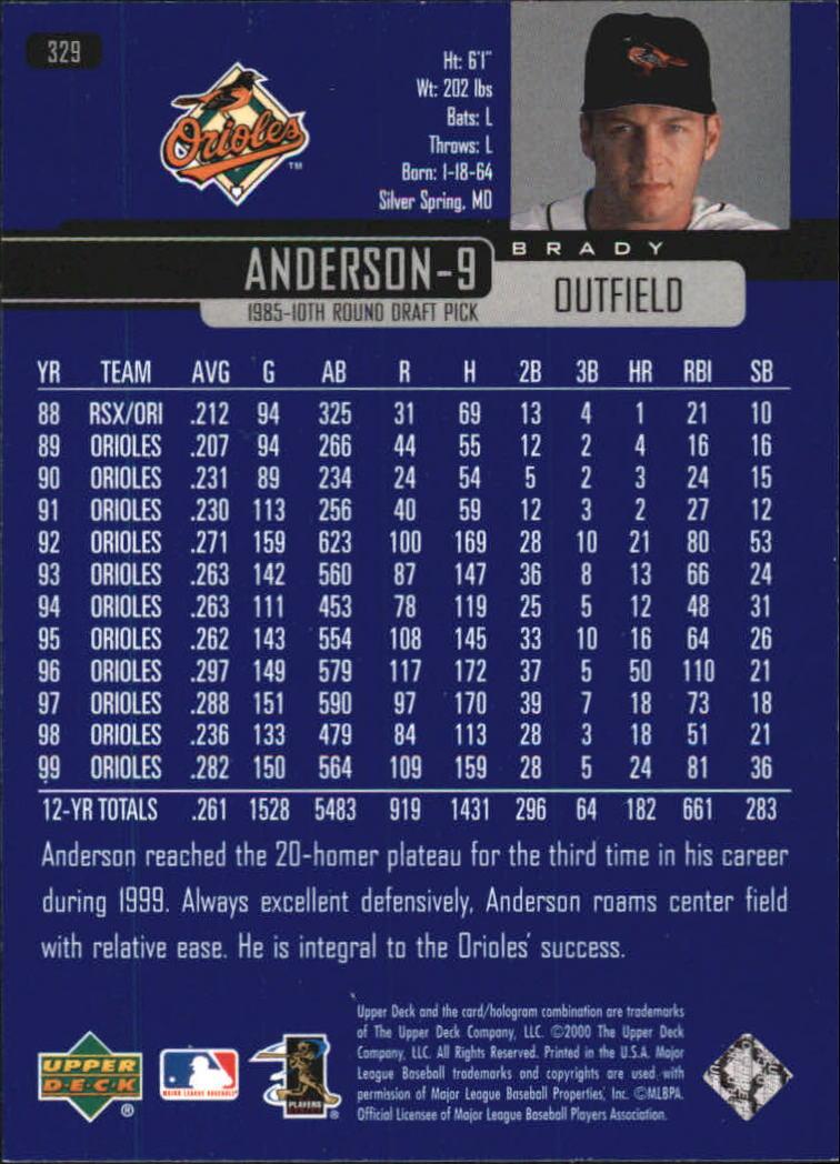 2000-Upper-Deck-Beisbol-Tarjeta-Recoger-274-540 miniatura 111