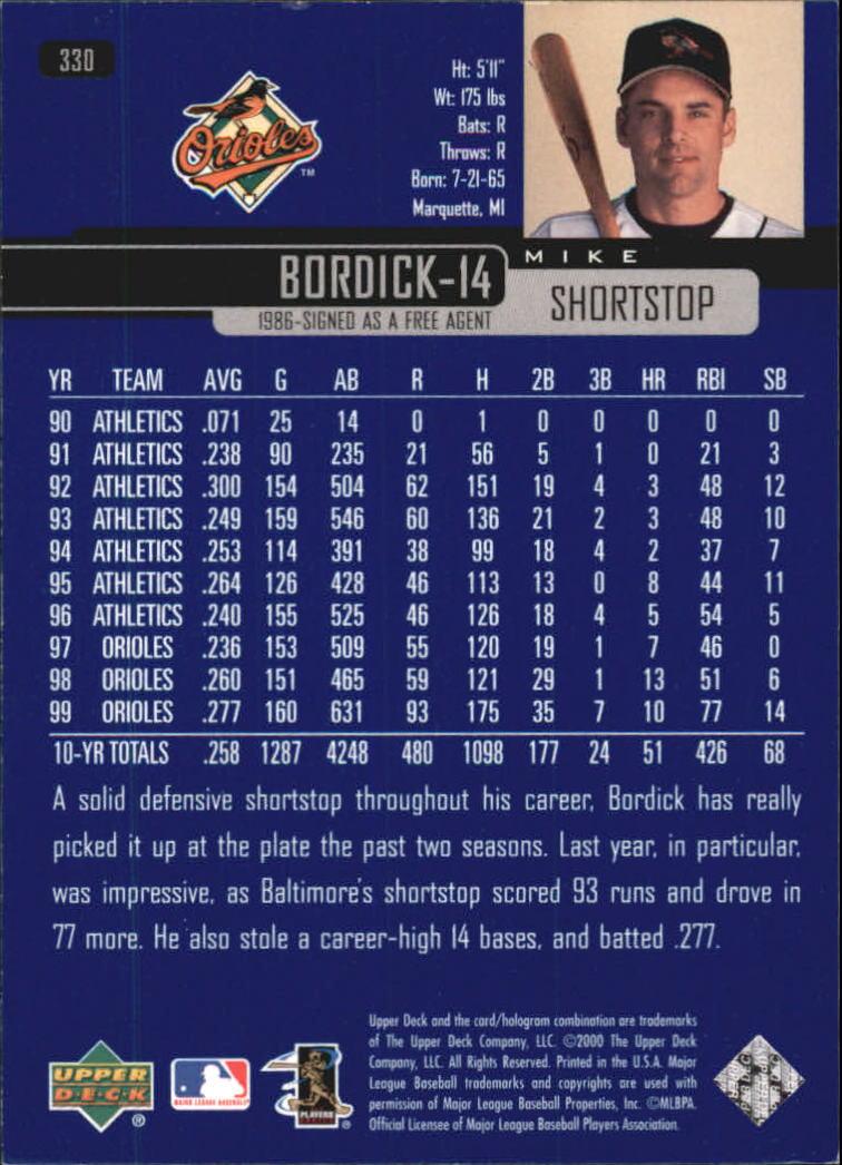 2000-Upper-Deck-Beisbol-Tarjeta-Recoger-274-540 miniatura 113