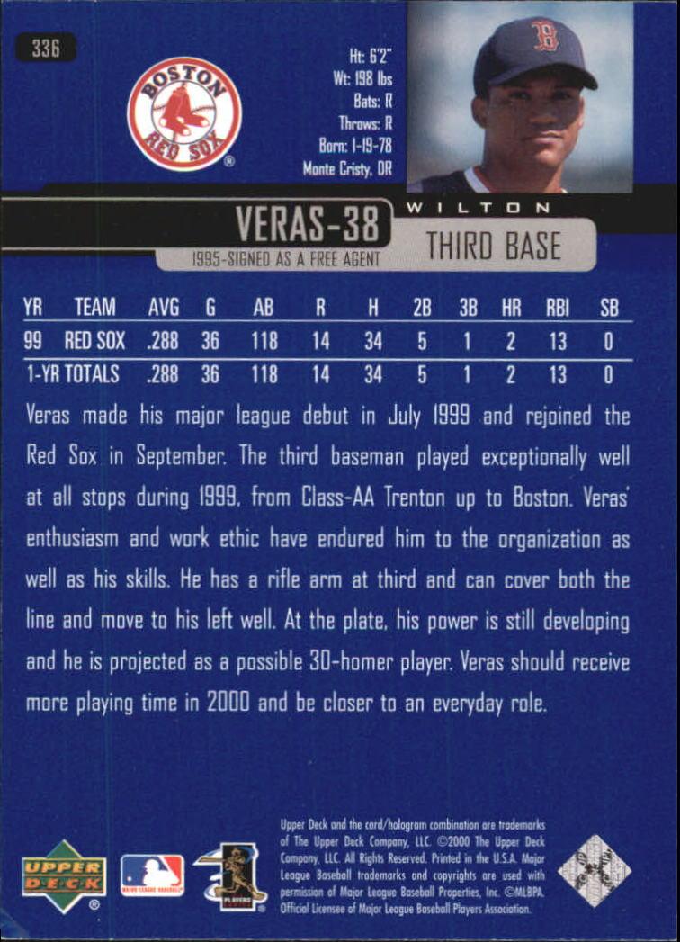 2000-Upper-Deck-Beisbol-Tarjeta-Recoger-274-540 miniatura 125