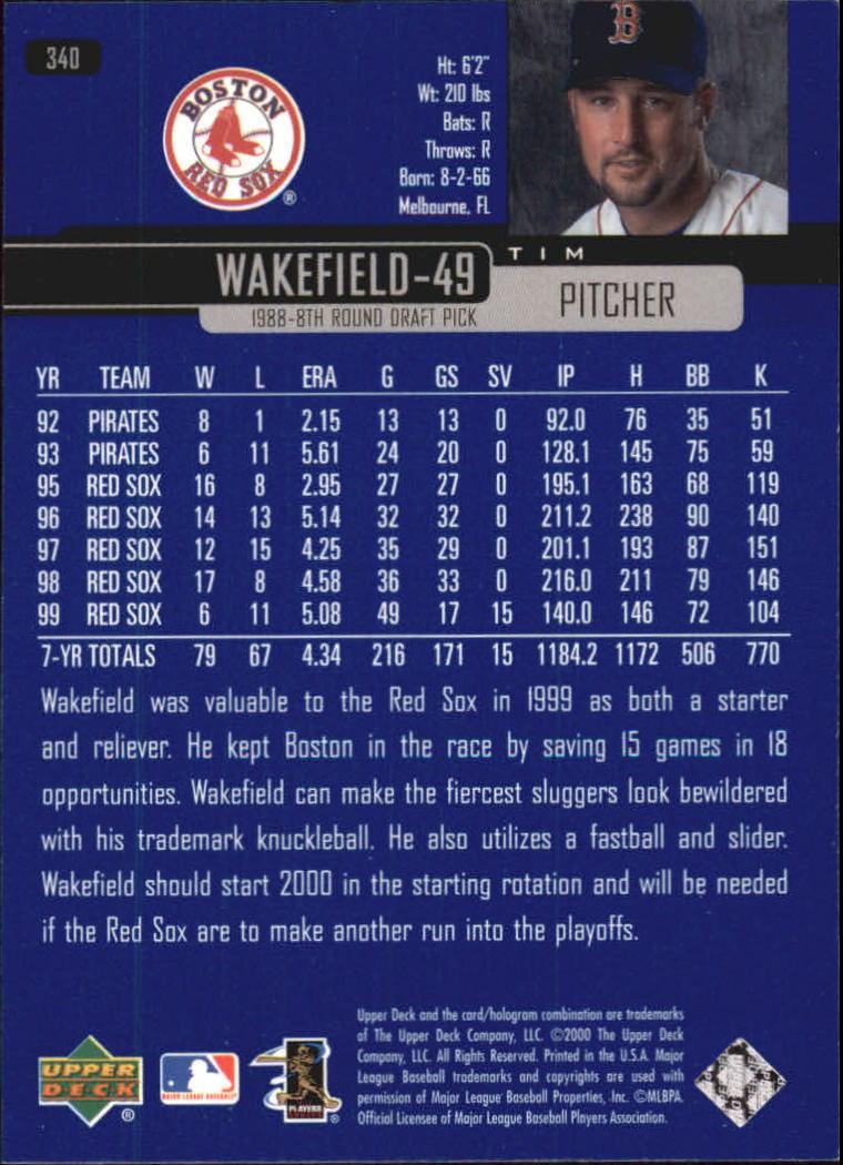 2000-Upper-Deck-Beisbol-Tarjeta-Recoger-274-540 miniatura 131