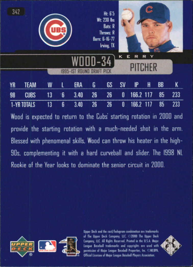 2000-Upper-Deck-Beisbol-Tarjeta-Recoger-274-540 miniatura 133