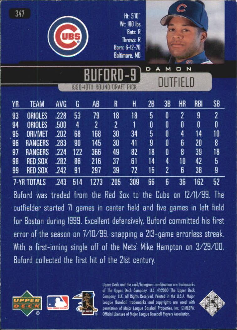 2000-Upper-Deck-Beisbol-Tarjeta-Recoger-274-540 miniatura 141