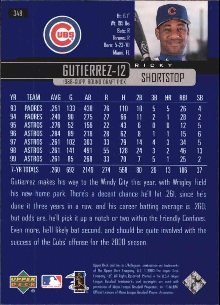 2000-Upper-Deck-Beisbol-Tarjeta-Recoger-274-540 miniatura 143