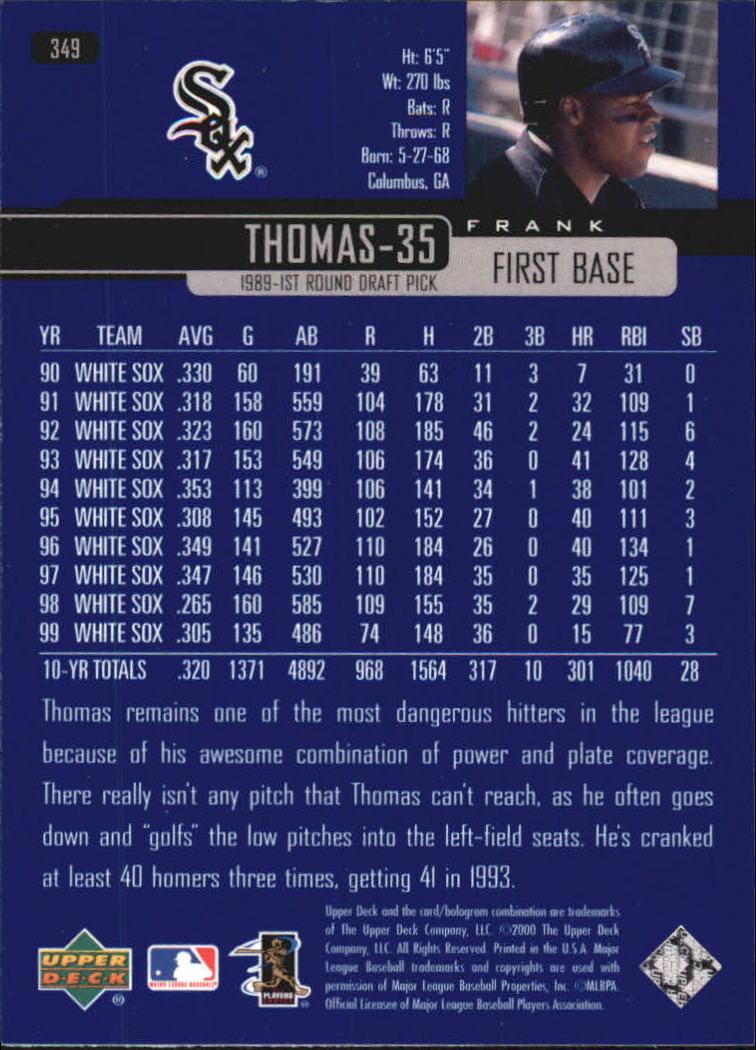 2000-Upper-Deck-Beisbol-Tarjeta-Recoger-274-540 miniatura 145