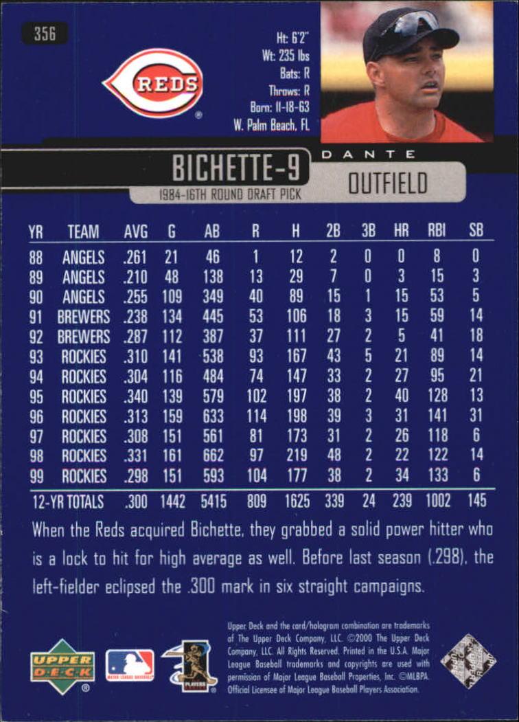 2000-Upper-Deck-Beisbol-Tarjeta-Recoger-274-540 miniatura 157