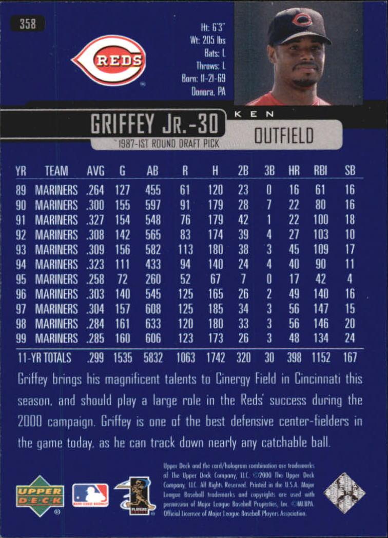 2000-Upper-Deck-Beisbol-Tarjeta-Recoger-274-540 miniatura 161