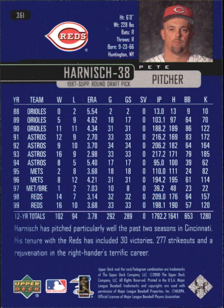 2000-Upper-Deck-Beisbol-Tarjeta-Recoger-274-540 miniatura 167