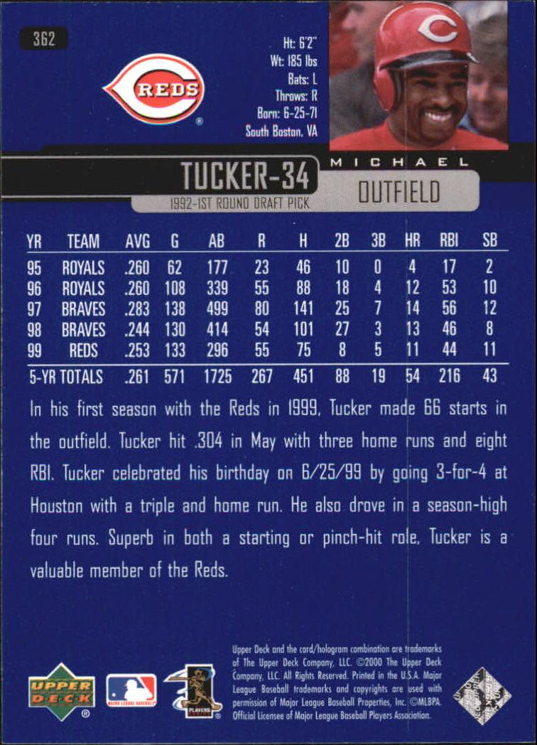2000-Upper-Deck-Beisbol-Tarjeta-Recoger-274-540 miniatura 169