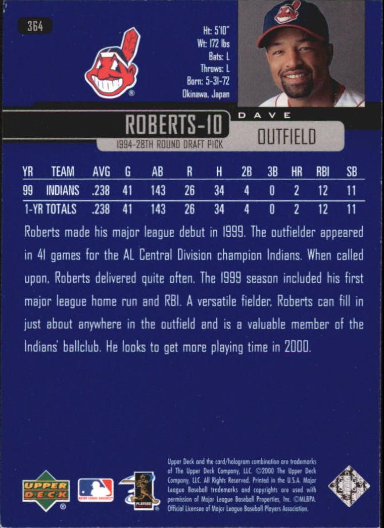 2000-Upper-Deck-Beisbol-Tarjeta-Recoger-274-540 miniatura 173
