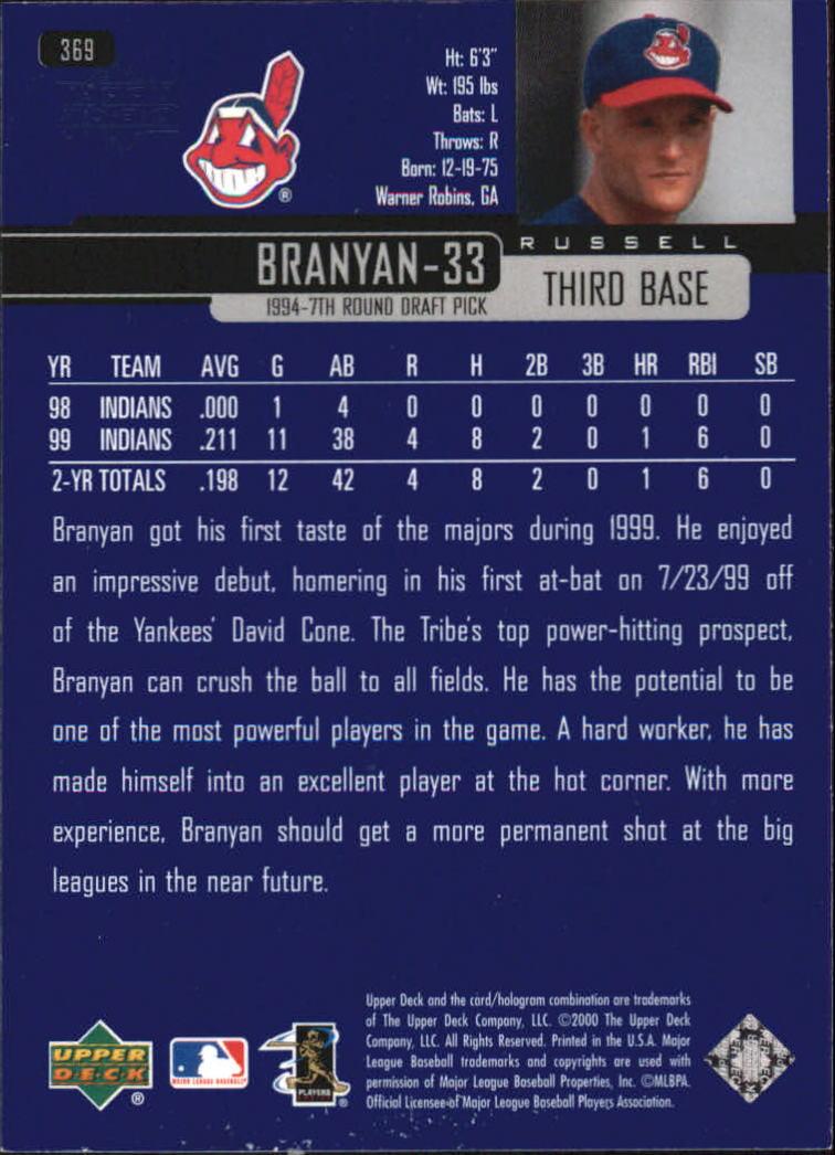 2000-Upper-Deck-Beisbol-Tarjeta-Recoger-274-540 miniatura 183