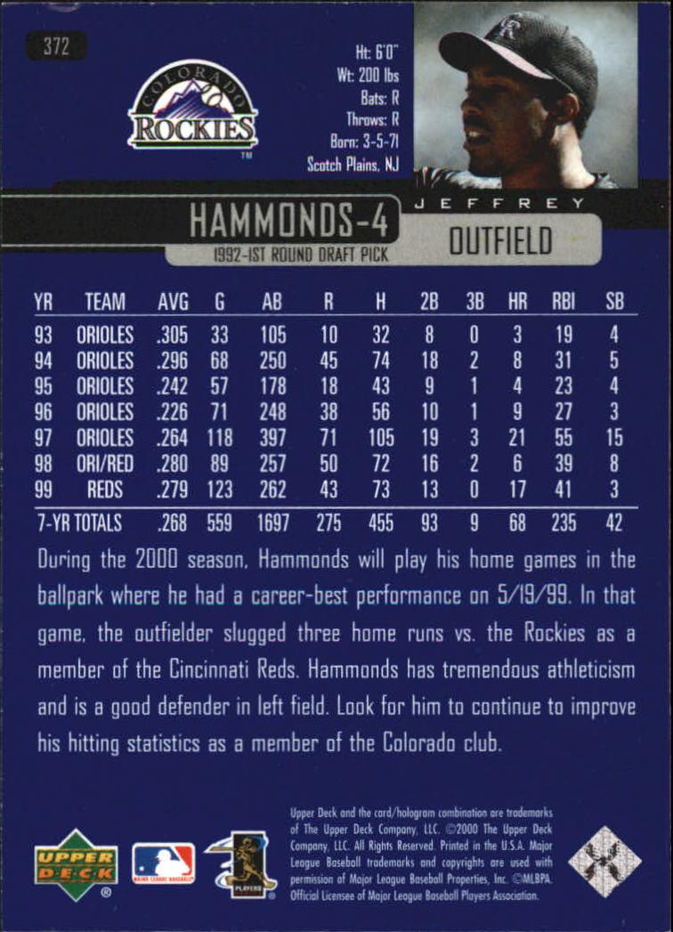 2000-Upper-Deck-Beisbol-Tarjeta-Recoger-274-540 miniatura 187