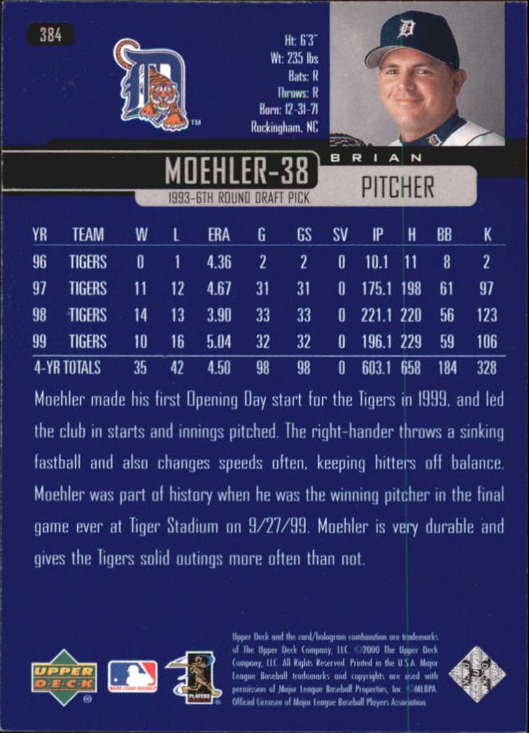 2000-Upper-Deck-Beisbol-Tarjeta-Recoger-274-540 miniatura 211