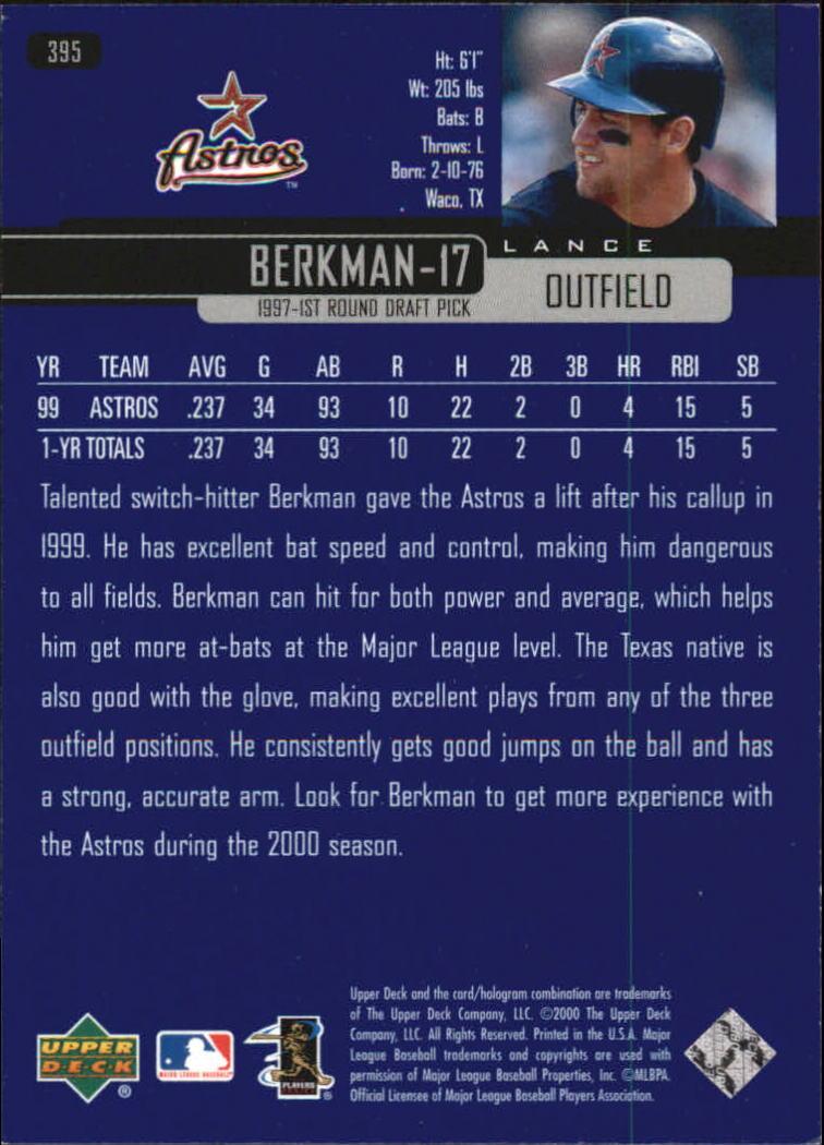 2000-Upper-Deck-Beisbol-Tarjeta-Recoger-274-540 miniatura 231