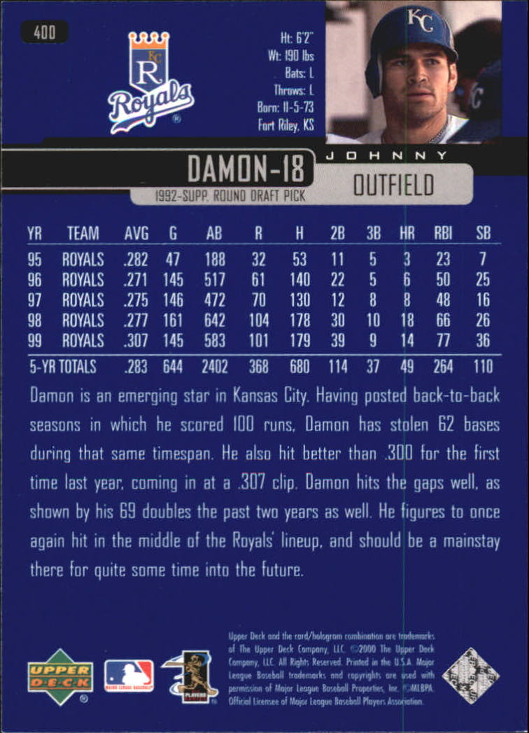2000-Upper-Deck-Beisbol-Tarjeta-Recoger-274-540 miniatura 241