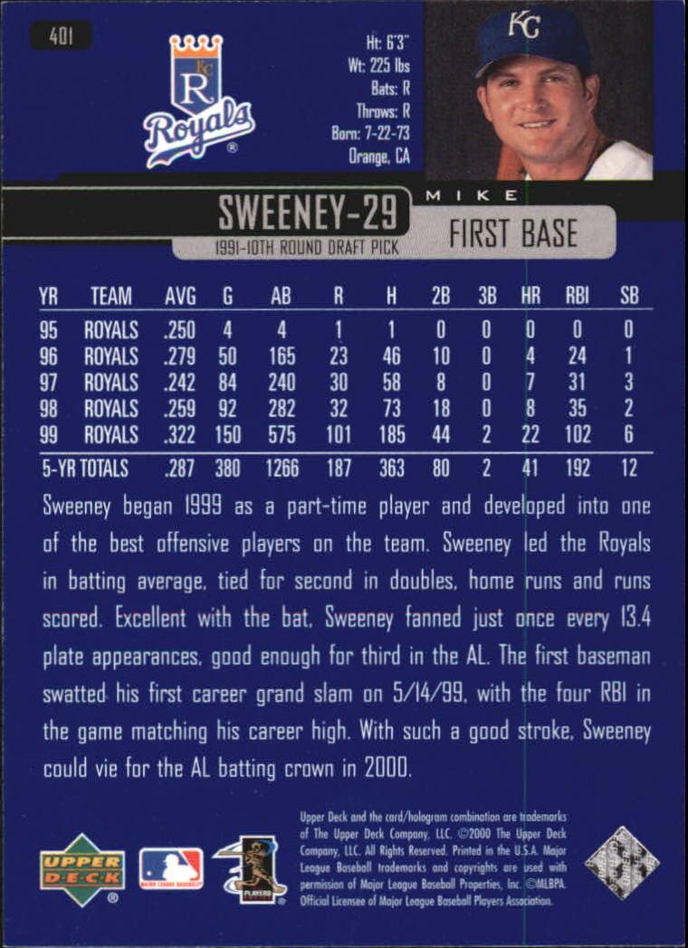 2000-Upper-Deck-Beisbol-Tarjeta-Recoger-274-540 miniatura 243