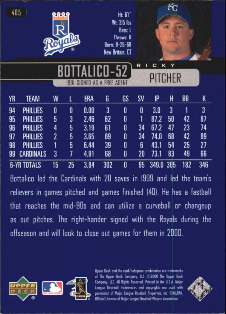 2000-Upper-Deck-Beisbol-Tarjeta-Recoger-274-540 miniatura 251