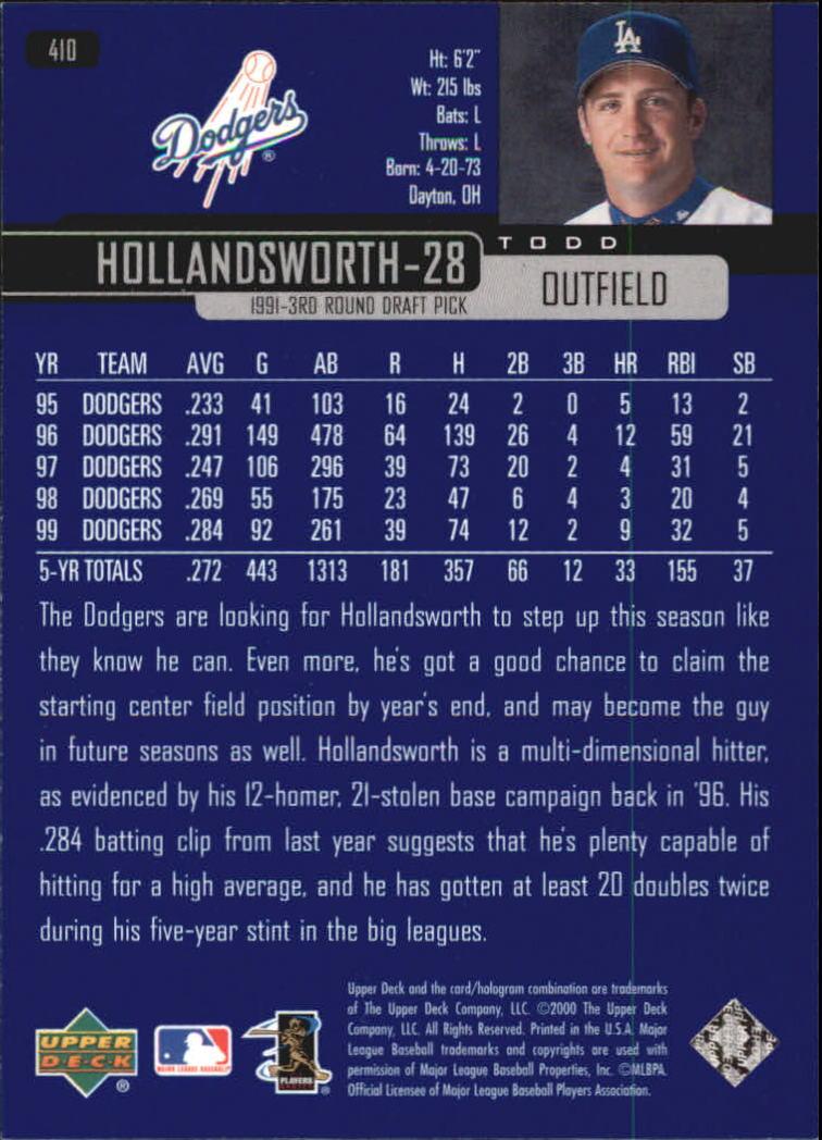 2000-Upper-Deck-Beisbol-Tarjeta-Recoger-274-540 miniatura 257