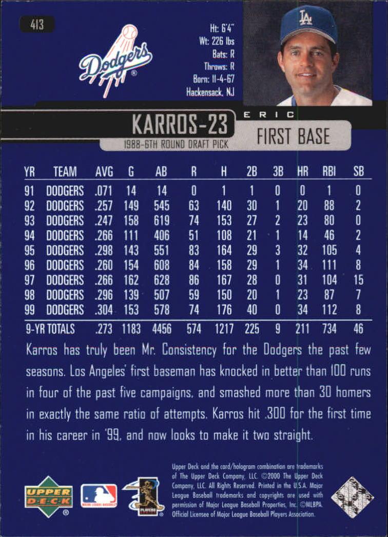 2000-Upper-Deck-Beisbol-Tarjeta-Recoger-274-540 miniatura 263