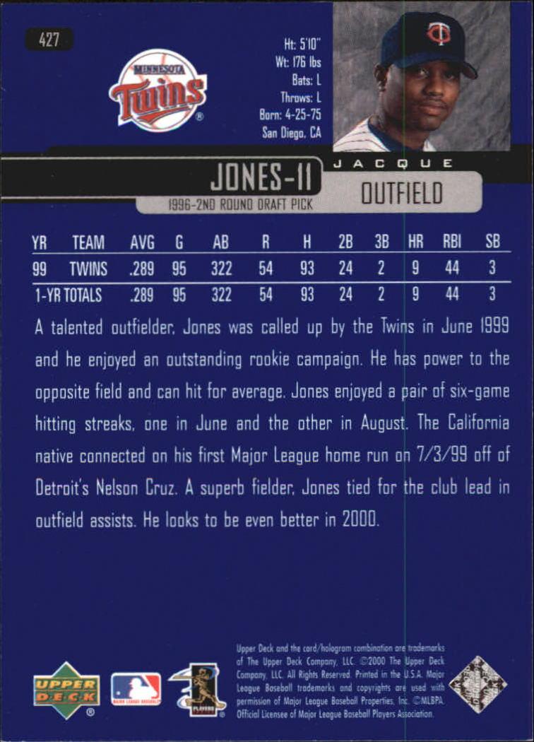 2000-Upper-Deck-Beisbol-Tarjeta-Recoger-274-540 miniatura 287