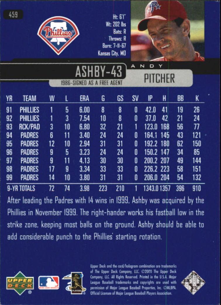 2000-Upper-Deck-Beisbol-Tarjeta-Recoger-274-540 miniatura 345