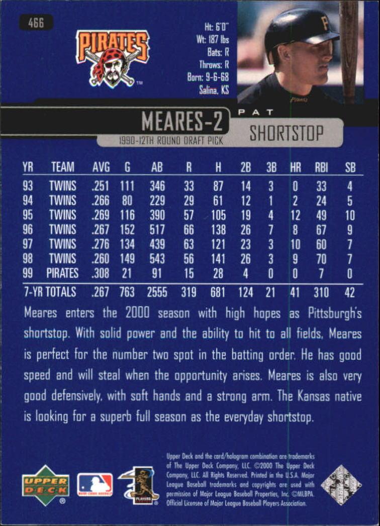 2000-Upper-Deck-Beisbol-Tarjeta-Recoger-274-540 miniatura 355