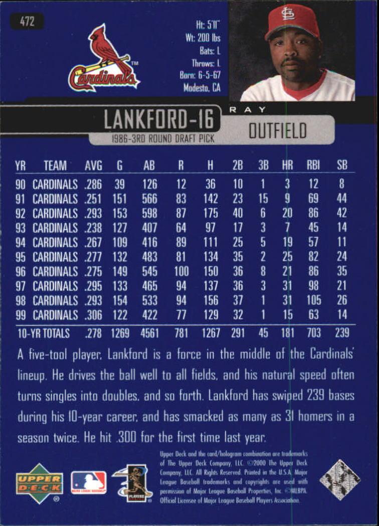 2000-Upper-Deck-Beisbol-Tarjeta-Recoger-274-540 miniatura 367