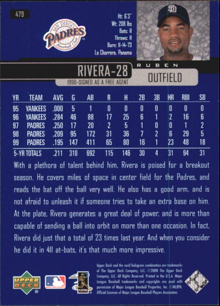 2000-Upper-Deck-Beisbol-Tarjeta-Recoger-274-540 miniatura 381