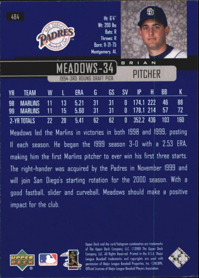 2000-Upper-Deck-Beisbol-Tarjeta-Recoger-274-540 miniatura 389